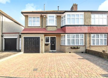 Thumbnail 4 bed semi-detached house for sale in Cranley Drive, Ruislip, Middlesex