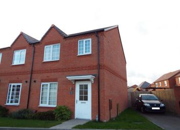 Thumbnail 3 bed semi-detached house for sale in Hawthorn Drive, Norton Canes, Staffordshire