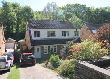 Thumbnail 3 bed semi-detached house for sale in Long Lane, Wheatley, Halifax