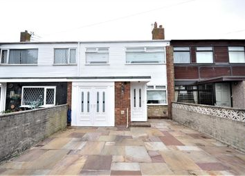 Thumbnail 3 bed terraced house for sale in Saer Close, Fleetwood, Lancashire