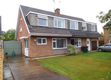 Thumbnail 3 bed semi-detached bungalow for sale in Westmoreland Way, Doncaster