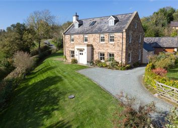Thumbnail 6 bed detached house for sale in Hyssington, Montgomery, Powys