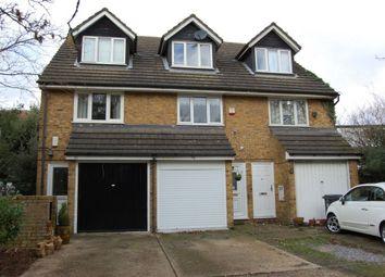 Thumbnail 4 bedroom town house for sale in Knighton Lane, Buckhurst Hill