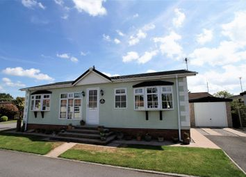 Thumbnail 2 bed mobile/park home for sale in Main Road, Goostrey, Crewe
