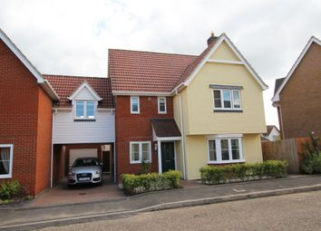 Thumbnail 4 bed detached house for sale in Elm Road, Dunmow, Essex