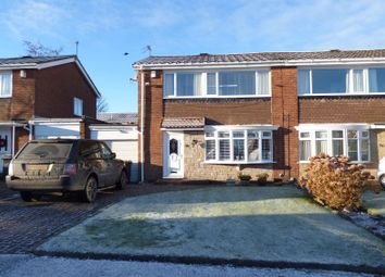 Thumbnail 3 bedroom semi-detached house for sale in Highfield Place, Wideopen, Newcastle Upon Tyne