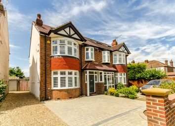 Thumbnail 4 bed semi-detached house for sale in Grand Drive, Raynes Park