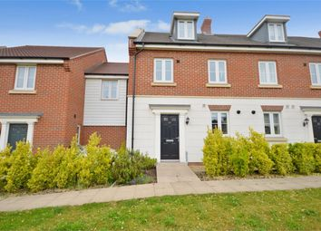 Thumbnail 4 bedroom end terrace house for sale in Triumph Court, The Hampdens, Norwich