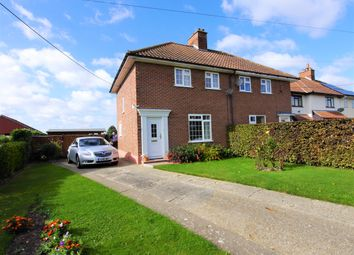 Thumbnail 3 bed semi-detached house for sale in 8 Groton Street, Edwardstone, Sudbury, Suffolk