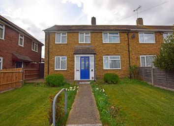 Thumbnail 3 bed end terrace house for sale in Sturry Way, Gillingham, Kent