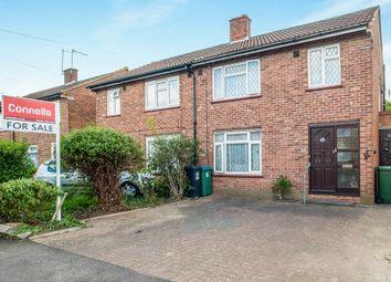 Thumbnail 3 bed semi-detached house for sale in Clyston Road, Watford