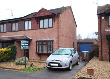 Thumbnail 3 bed semi-detached house for sale in Heron Way, Balderton, Newark