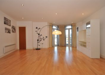Thumbnail 1 bed flat to rent in Clarence Street, Staines Upon Thames, Surrey