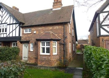 Thumbnail 2 bedroom end terrace house for sale in Main Street, Escrick, York