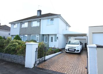 Thumbnail 3 bed semi-detached house for sale in Birkbeck Close, Plympton, Plymouth