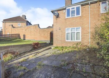 Thumbnail 3 bed semi-detached house for sale in Stephenson Drive, Leicester