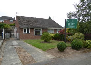 Thumbnail 2 bed semi-detached bungalow to rent in Lorgill Close, Davenport, Stockport