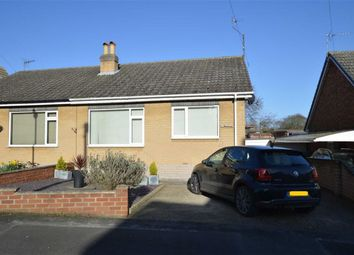 Thumbnail 2 bed semi-detached bungalow for sale in Willows Drive, Hornsea, East Yorkshire