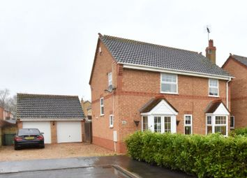 Thumbnail 4 bed detached house for sale in Deene Close, Market Deeping, Peterborough