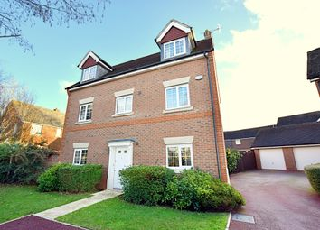 Thumbnail 5 bed detached house for sale in Elnoth Drive, Fleet