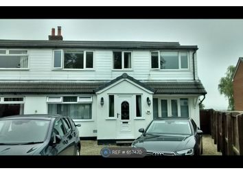 Thumbnail 4 bed semi-detached house to rent in Church Lane, Chorley