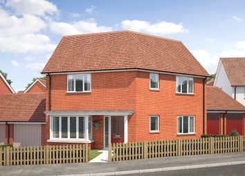 "Thumbnail 3 bed semi-detached house for sale in ""The Donnington"" at Saunders Way, Basingstoke"