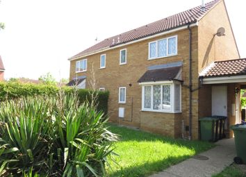 Thumbnail 1 bed terraced house for sale in Begwary Close, Eaton Socon, St. Neots