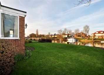 Thumbnail 2 bed detached bungalow to rent in Laleham Reach, Chertsey, Surrey