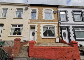 Thumbnail 4 bed terraced house for sale in Angus Street, Troedyrhiw, Merthyr Tydfil, Mid Glamorgan