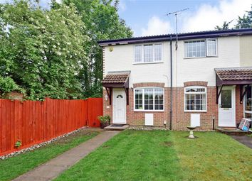 Thumbnail 2 bedroom end terrace house for sale in Brewers Field, Dartford, Kent