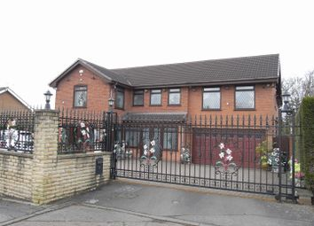 Thumbnail 5 bed detached house for sale in Winchester Close, Bamford, Rochdale