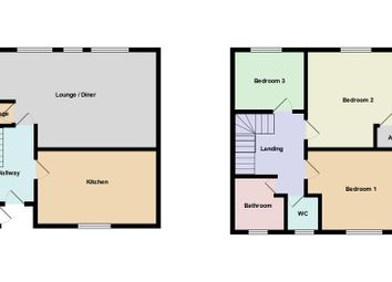 Thumbnail 3 bed maisonette for sale in Hollybush Estate, Hollybush, Whitchurch, Cardiff