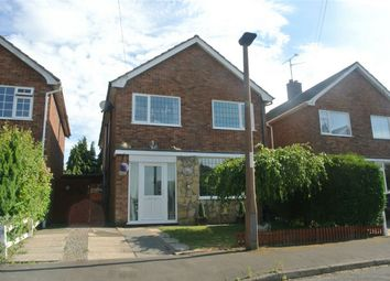 Thumbnail 4 bed detached house for sale in Oak Road, Glinton, Cambridgeshire