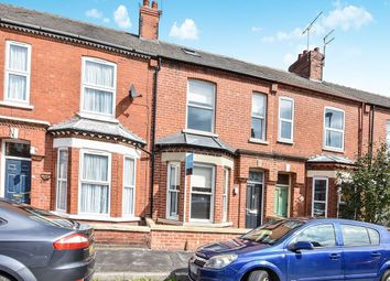 Thumbnail 4 bed terraced house to rent in Cromer Street, York