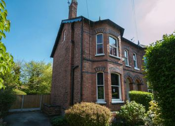 Thumbnail 4 bed semi-detached house for sale in Cambridge Road, Hale, Altrincham