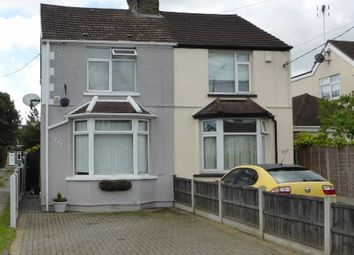 Thumbnail 3 bed semi-detached house for sale in Rectory Road, Hockley