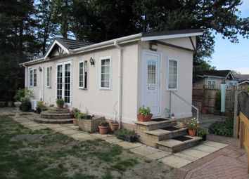 Thumbnail 2 bed mobile/park home for sale in St Johns Park, Theobalds Road, Enfield, Middlesex, 9Jg