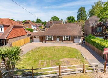 Thumbnail 3 bed detached bungalow for sale in Church Road, Worth, Crawley, West Sussex