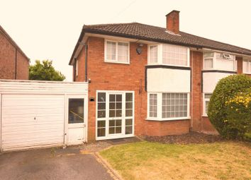 Thumbnail 3 bed semi-detached house for sale in Streather Road, Sutton Coldfield