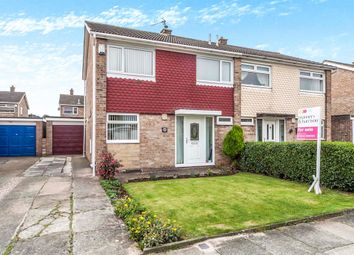 Thumbnail 3 bedroom semi-detached house for sale in Brough Close, Thornaby, Stockton-On-Tees