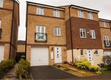 Thumbnail 3 bed end terrace house to rent in Teasel Way, Peterborough