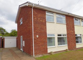 Thumbnail 3 bed semi-detached house for sale in Kirby Cane Walk, Lowestoft