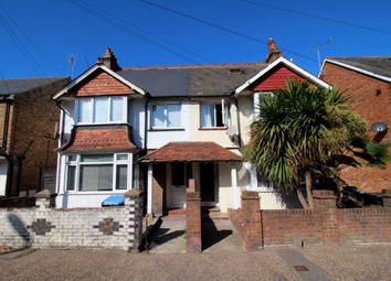Thumbnail 1 bedroom flat to rent in Longford Road, Bognor Regis