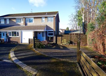 Thumbnail 3 bed semi-detached house for sale in Cheviot Way, Hexham