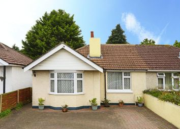 Thumbnail 2 bedroom semi-detached bungalow for sale in Binnie Road, Poole BH12.