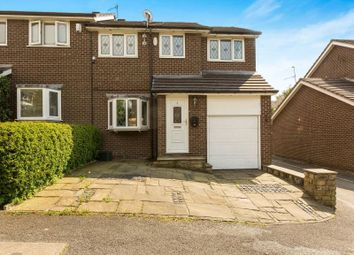 Thumbnail 4 bed semi-detached house for sale in Lodge Bank, Hadfield, Glossop