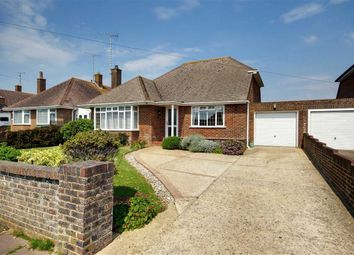 Thumbnail 3 bed detached bungalow for sale in Fairview Avenue, Goring-By-Sea, Worthing, West Sussex