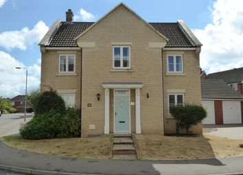 Thumbnail 4 bed detached house for sale in Civray Avenue, Downham Market