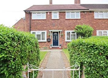 Thumbnail 3 bed semi-detached house for sale in Ensign Way, Staines-Upon-Thames