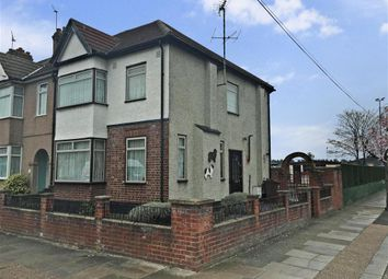 Thumbnail 2 bedroom end terrace house for sale in Saville Road, Chadwell Heath, Essex
